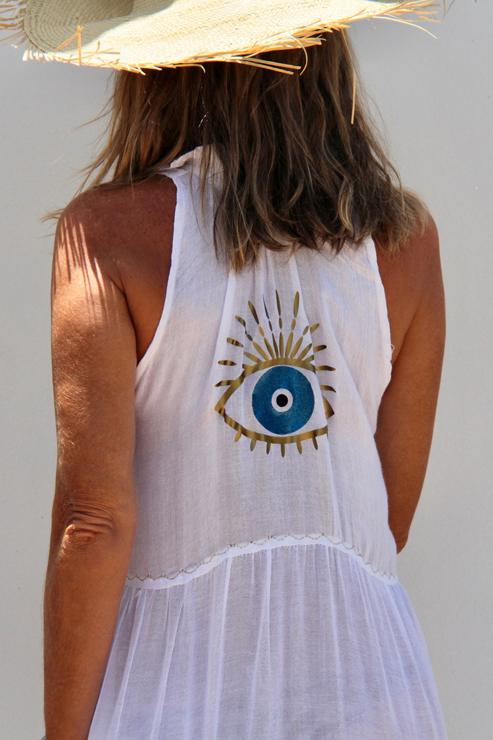 Robe Nomade Blanche