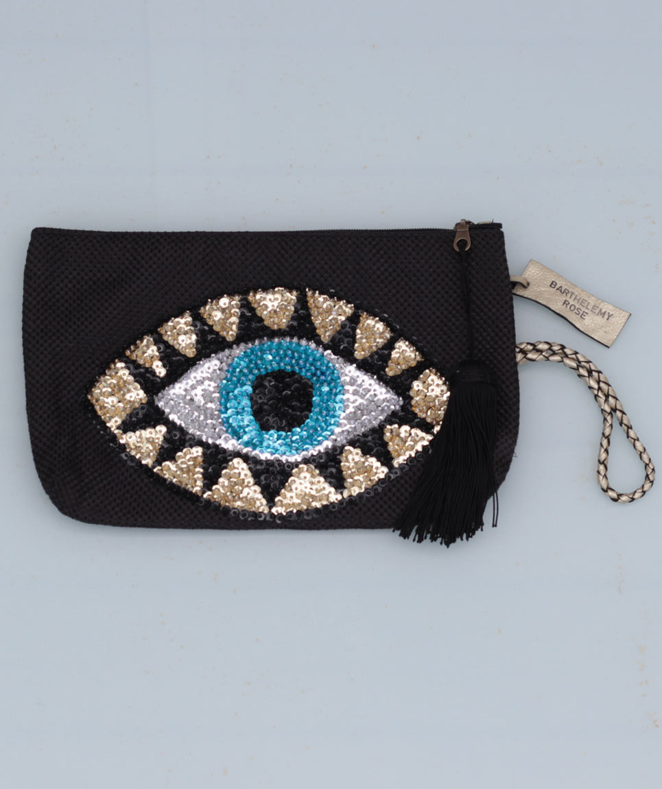 Clutch Evil Eye Black