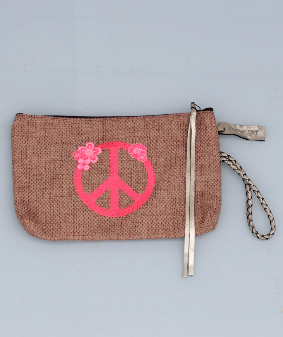 Pochette St Barth Peace