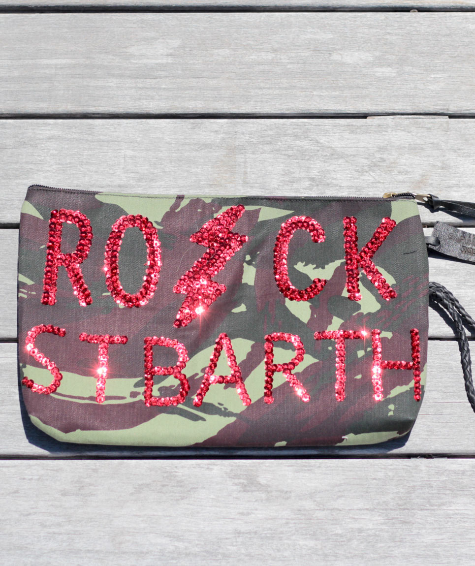 Pochette Rock St Barth Camo