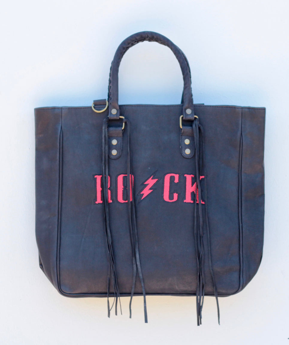 Tote St Barth Leather